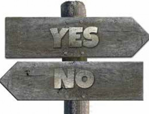 Do we end up saying yes when we want to say no