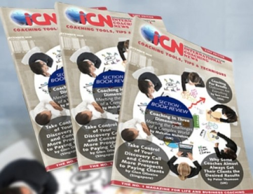 Grab the Latest iCN magazine edition (23rd) Coaching Tools, Tips & Techniques