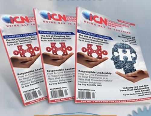 Grab the Latest iCN Magazine – Using NLP in Coaching